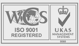 ISO 9001 registered logo